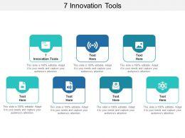 7 Innovation Tools Ppt Powerpoint Presentation Model Brochure Cpb