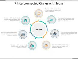 7 Interconnected Circles With Icons