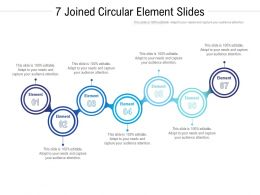7 Joined Circular Element Slides
