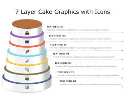 7 Layer Cake Graphics With Icons