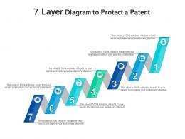 7 Layer Diagram To Protect A Patent Infographic Template