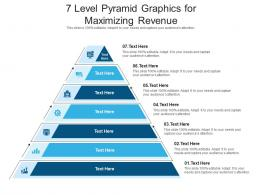 7 Level Pyramid Graphics For Maximizing Revenue Infographic Template