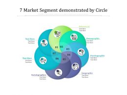 7 Market Segment Demonstrated By Circle