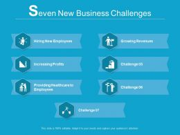 7 New Business Challenges