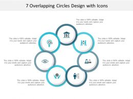7 Overlapping Circles Design With Icons