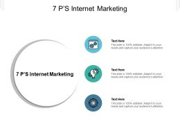 7 P s Internet Marketing Ppt Powerpoint Presentation Infographics Sample Cpb
