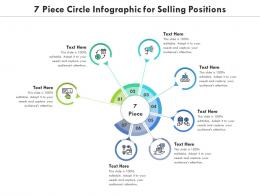 7 Piece Circle For Selling Positions Infographic Template