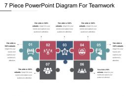 7 Piece Powerpoint Diagram For Teamwork Ppt Images Gallery