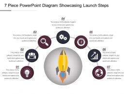 7 Piece Powerpoint Diagram Showcasing Launch Steps Ppt Inspiration