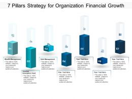 7 Pillars Strategy For Organization Financial Growth