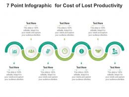 7 Point For Cost Of Lost Productivity Infographic Template