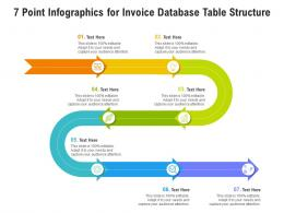 7 Point For Invoice Database Table Structure Infographic Template