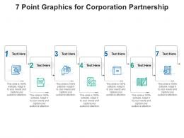 7 Point Graphics For Corporation Partnership Infographic Template