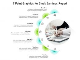 7 Point Graphics For Stock Earnings Report Infographic Template