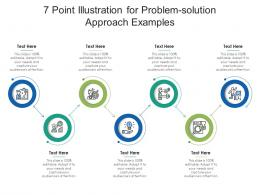 7 Point Illustration For Problem Solution Approach Examples Infographic Template