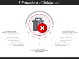 7 Procedure Of Delete Icon