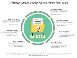 7 Process Documentation Control Powerpoint Slide