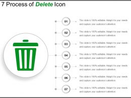 7 Process Of Delete Icon