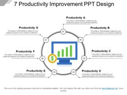 7 Productivity Improvement Ppt Design