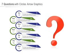 7 Questions With Circles Arrow Graphics