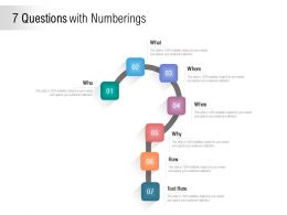 7 Questions With Numberings