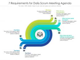 7 Requirements For Daily Scrum Meeting Agenda