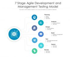 7 Stage Agile Development And Management Testing Model