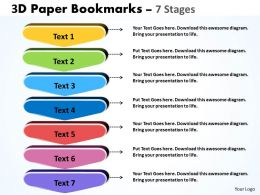7 Staged Bookmark Design Diagram