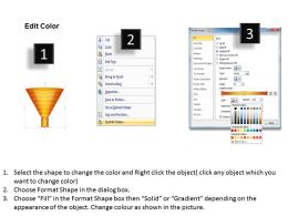 51845956 Style Layered Funnel 7 Piece Powerpoint Presentation Diagram Infographic Slide
