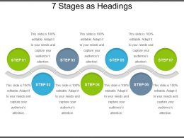 7 Stages As Headings Presentation Examples