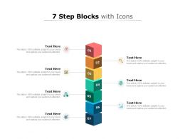 7 Step Blocks With Icons