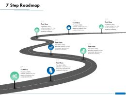 7 Step Roadmap L1870 Ppt Powerpoint Presentation Layouts Layouts