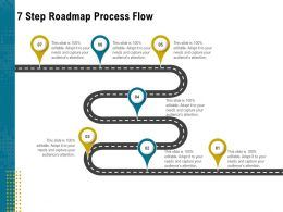 7 Step Roadmap Process Flow L1952 Ppt Powerpoint Presentation Ideas