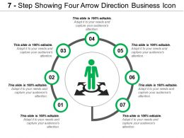 7_step_showing_four_arrow_direction_business_icon_Slide01
