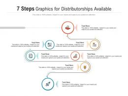 7 Steps Graphics For Distributorships Available Infographic Template