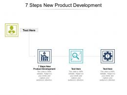 7 Steps New Product Development Ppt Powerpoint Presentation Professional Example Cpb
