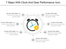 7 Steps Of Performance Analysis Icon