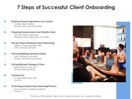 7 Steps Of Successful Client Onboarding
