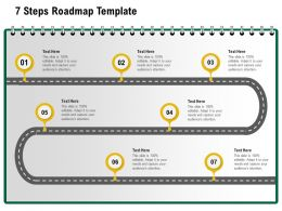 7 Steps Roadmap Template M1234 Ppt Powerpoint Presentation Inspiration Layouts