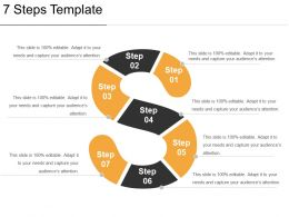 7 Steps Template Presentation Powerpoint Example