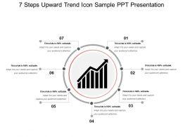 7_steps_upward_trend_icon_sample_ppt_presentation_Slide01