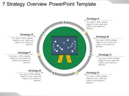 7 Strategy Overview Powerpoint Template