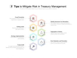 7 Tips To Mitigate Risk In Treasury Management
