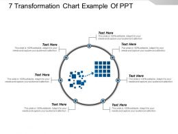 7 Transformation Chart Example Of Ppt