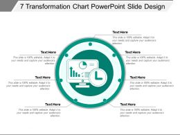 7 Transformation Chart Powerpoint Slide Design