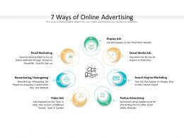 7 Ways Of Online Advertising