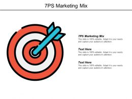 7ps Marketing Mix Ppt Powerpoint Presentation Files Cpb