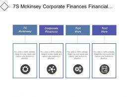 7s Mckinsey Corporate Finances Financial Services Risk Management Cpb
