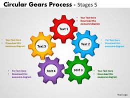 89 Circular Gears Process Stages 5