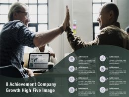 8 Achievement Company Growth High Five Image